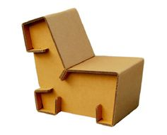 Chairigami: kartonnen meubels die je in elkaar vouwt   Want.nl