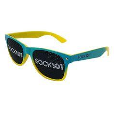 The Bueller Custom Sunglasses - - Sock 101 Custom Socks Sunglasses Price, Cool Sunglasses, Liberty Mutual, Custom Socks, Knitting Socks, Template, Style, Design, Personalized Stockings