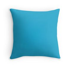 Bright Cerulean Colorful Home Decor Ideas ! Throw Pillows - Duvet Covers - Mugs - Travel Mugs - Wall Tapestries - Clocks -Acrylic Blocks and so much more ! Find the perfect colors for your Home: Makeitcolorful.redbubble.com