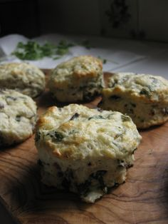Savoury Herbed Scones with Sundried Tomatoes & Parmesan | One Wooden Spoon