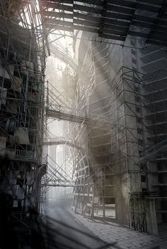 Concept scene Scaffolding by Jonathan Gales, via Flickr