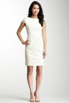 Muse Embroidered Boatneck Dress on HauteLook