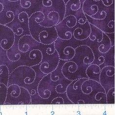 Eggplant purple: color idea for patch quilt