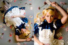 ~*Halloween Alice*~ (by Water For The Bird) http://lookbook.nu/look/1241171-Halloween-Alice