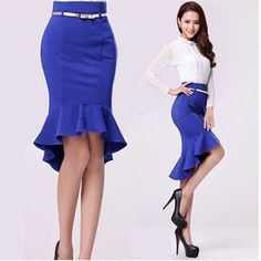 Find More Skirts Information about 2014 New Arrival Women Mermaid Skirts High Waist Pencil Skirt European Style Fishtail Skirt Slim Professional Skirts,High Quality mermaid skirt pattern,China skirt mini Suppliers, Cheap skirt layered from New Colorful Life on Aliexpress.com Mermaid Skirt Pattern, Cheap Skirts, Cute Skirts, Schick, European Fashion, European Style, Pencil Skirts, High Waisted Pencil Skirt, High Waist Skirt