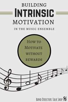 Teach your band students how to have intrinsic motivation. Helpful tips from an experienced band director! Visit Band Directors Talk Shop for more great band ideas! Music Lesson Plans, Music Lessons, Piano Lessons, Art Lessons, Music Theory Games, Music Games, Music Music, Piano Teaching, Teaching Orchestra