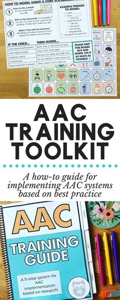 AAC Implementation Toolkit: Training, Handouts, Data Sheets, and More Get organized with this AAC Im Vocabulary Activities, Speech Therapy Activities, Language Activities, Learning Activities, Speech Language Pathology, Speech And Language, Spanish Language, French Language, School Psychology