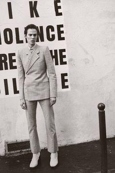 Aymeline Valade by Scott Trindle / L'uomo Vogue April 2017