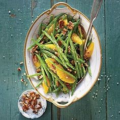 Green Beans with Citrus and Pecans | MyRecipes.com