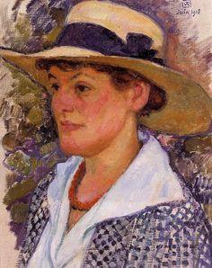 Portrait of a Woman - Rysselberghe Theo van, 1918