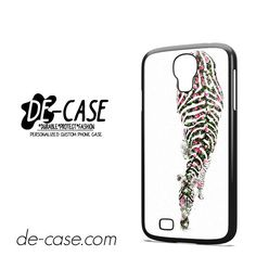 Floral Zebra DEAL-4292 Samsung Phonecase Cover For Samsung Galaxy S4 / S4 Mini