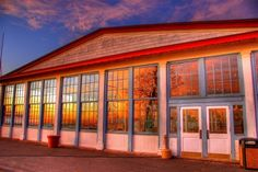 sunset reflected on glass windows hdr - Desktop Nexus Wallpapers Windows Wallpaper, Hdr, Travel Tips, Mansions, Sunset, House Styles, Awesome, Building, Places