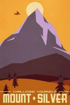 Visit Mount Silver by naroclie.deviantart.com on @deviantART