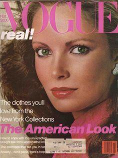 Vogue February 1979 Jaclyn Smith-GIA Carangi-Chris von Wangenheim - Frank Stella