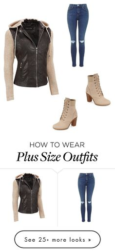 """Untitled #82"" by purpleswaggy19 on Polyvore featuring Black Rivet, Timberland and plus size clothing"