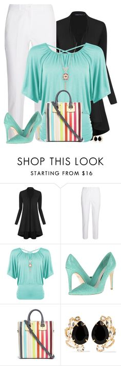 """""""Rainbow Bags"""" by sherbear1974 ❤ liked on Polyvore featuring Michael Kors, WearAll, Alice + Olivia, Sophie Hulme and Bounkit"""