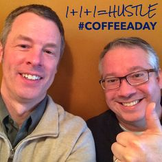 Today John Kouns and I talked about how Helpers hustle for My CoffeeADay Initiative: 1 Coffee, 1 Person, Every Day.   http://coffeeaday.net/post/112612838106/today-john-kouns-and-i-talked-about-how-helpers