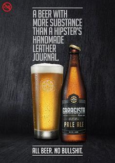 Garagista Beer, a cerveja contra a bullshitagem hipster