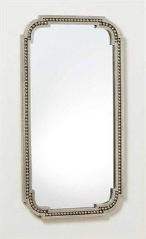 Global Views Forged Pearl Nickel x Rectangular Wall Mirror Wall Mirror, Mirrors, Pearls, Book, Decor, Dekoration, Decoration, Wall Mirrors, Books