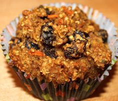 Modified from Bob's Red Mill recipe (on flaxseed bag). Author uses chia seeds and oat flour instead of wheat flour. Healthy Dessert Recipes, Breakfast Recipes, Desserts, Liquid Lunch, Apple Muffins, Flax Seed Recipes, Red Mill, Grain Foods, Food To Go
