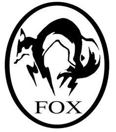 T-shirt Fox Hound Metal Gear Solid - Cadeau Geek