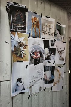 La Maison Pernoise . Photo Atelier rue verte. love that great and simple idea for christmas mood board!