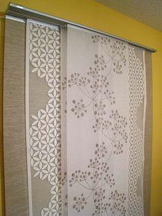 Cortinas y paneles japoneses de ikea para ventanas for Binario kvartal ikea