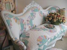 repurposed quilt, love it