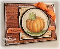 love this pumpkin card