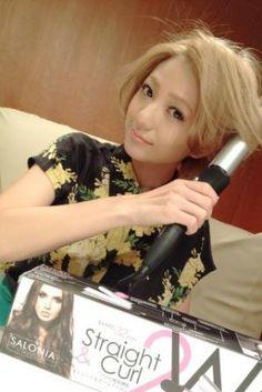 AAA 伊藤千晃オフィシャルブログ : 2WAYヘアアイロン♪ http://ameblo.jp/chiakiki110/entry-11315916674.html