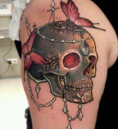 Top 80 tatouages de crâne effrayants et significatifs  #crâne #effrayants #significatifs #Tatouages