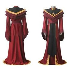 Fire Lord Ozai Cosplay Costume From The Last Airbender