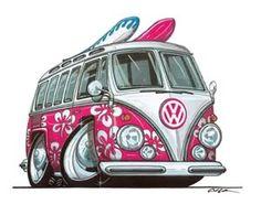 Hippie Splitty Surf Bus