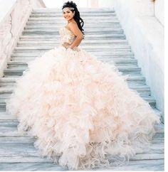 My Dream Quincenera Dress!!❤️