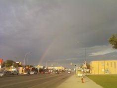 Rainbow after the storm photo
