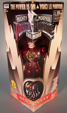 Mighty Morphin Power Rangers: The Movie Red Ranger figure
