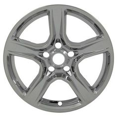 "2016 2017 2018 Chevrolet Camaro Chrome Wheel Skins / Hubcaps / Wheel Covers 18"""" SET OF 4"