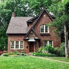 best tiny house plans small cottages design ideas 31 - Home & DIY Brick Cottage, Cottage Exterior, Cottage House Plans, Small House Plans, Cottage Homes, Small Cottage House, Brick House Plans, Tudor Cottage, Best Tiny House