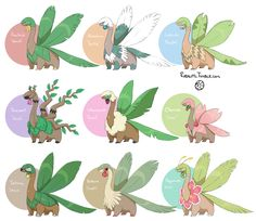 """So I have a lot of ideas about Tropius.[[MORE]]What if Tropius had a special ability similar to Honey Gather or Pickup, but instead it grew random berries that you could collect from it?Tropius' Ruby Pokédex entry says """"This Pokémon loves fruit, and eats it continuously. Apparently, its love for fruit resulted in its own outgrowth of fruit"""". Well, every single Tropius can't have the same favorite fruit, right? What if a Tropius' favorite fruit/berry was Oran berries for example, then Oran…"""