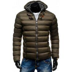 Pánske bundy - kapucňa s kožušinou  b3dab4e7787