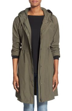 Eileen Fisher Eileen Fisher Hooded Long Jacket (Regular & Petite) available at #Nordstrom