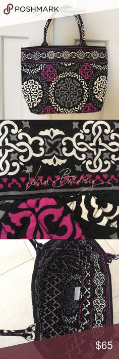 NEW Vera Bradley Bag NWOT Vera Bradley bag! This print is not available anymore. I bought this bag a while ago but never used it. Smoke free, dog friendly home! If you have any questions about measurements please comment below! I am only interested in selling. Vera Bradley Bags