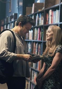 Ben Affleck and Rosamund Pike in Gone Girl, 2014