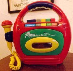 Magnétophone à Cassette Music Beat Jouet (années 90)