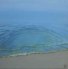 Lap the Shore – Elena Duff The Duff, Modern Contemporary, Minimalism, My Arts, Waves, Scene, Landscape, Abstract, Beach