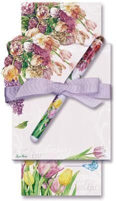Tulip Double Notepad and Pen Set