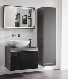 Available in a light or dark oak finish, the luxurious Geberit Citterio Bathroom Collection offers stylish storage space for sophisticated bathroom designs, incorporating natural wood to create a spa-like sanctuary. Modern Bathroom Design, Bathroom Designs, Bathroom Ideas, Relaxing Bathroom, Bathroom Collections, Interior Decorating, Interior Design, Natural Wood, Storage Spaces