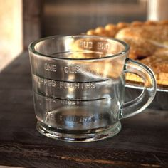 Glass Measuring Cups, Set of 2