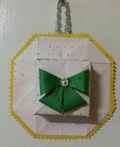 189.모자방향제접기.종이공예.종이접기.오월의장미.origami