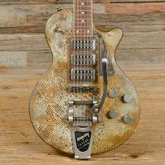 James Trussart SteelDeVille Rusty Snakeskin 2013 (s053) | Chicago Music Exchange